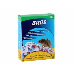 BROS-měkká návnada na myši,krysy a potkany 250g