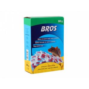 BROS-měkká návnada na myši,krysy a potkany 500g