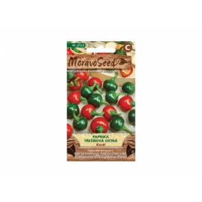 Paprika třešňová KORÁL červená ostrá