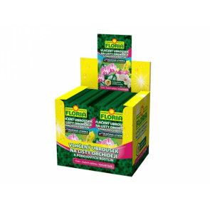 FLORIA Vlhčený ubrousek na listy orchidejí a pokojových rostlin 6g