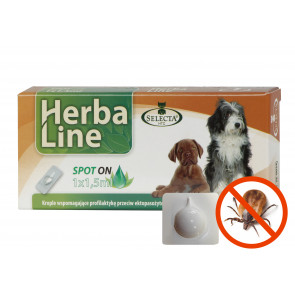 HerbaLine SpotOn BIG DOG 1,5ml