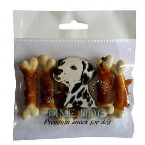 FINE DOG Bone with chicken 6ks