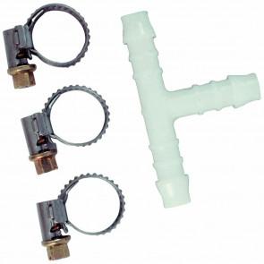 sada pro spojení hadic, T rozdvojka  4mm