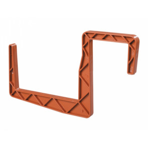 Držák truhlíku hranatý 2ks/12cm terakota
