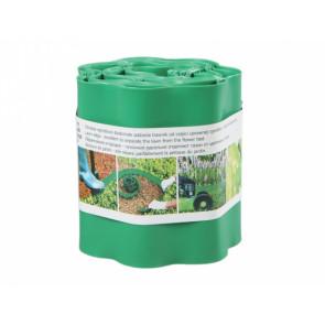 Obruba plastová 9x0.2m zelená
