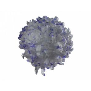 Chryzantéma 14cm bílofialová