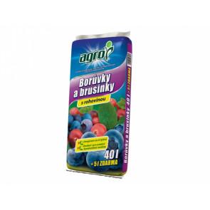 Substrát pro borůvky a brusinky 40l/+5l ZDARMA