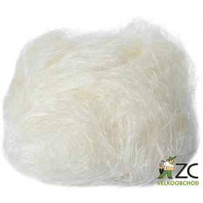 Sisalové vlákno 30g přírodní (bílé) ZC