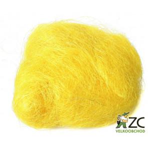 Sisalové vlákno 30g žluté ZC