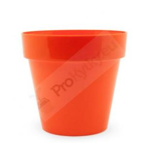 Obal na květináč CRYSTAL 14cm(oranžový) RYNE