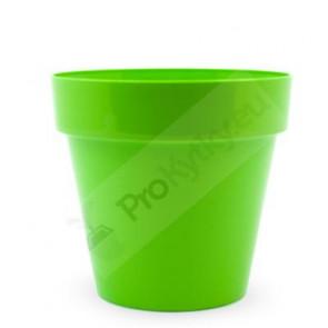 Obal na květináč CRYSTAL 14cm(zelený) RYNE