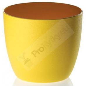 Obal na květináč Milano 11cm (žlutý) RYNE