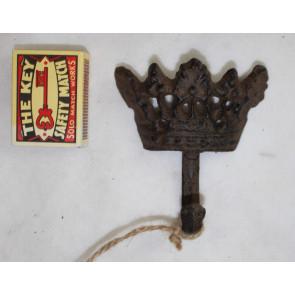 Háček ve tvaru koruny 9x8x3cm