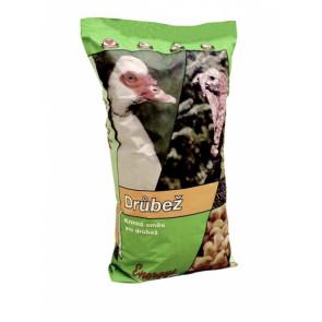 Krmivo pro kuřata Midi, drcená směs 25kg