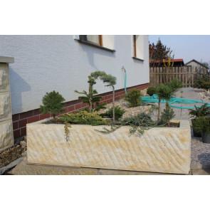 Zahradní koryto pískovec JARDA 1000x350x250