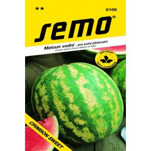 Meloun vodní-Crimson Sweet-oválný žíhaný 0,6g