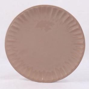 Dezertní talíř hnědý