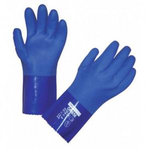 Ochranné rukavice na chemikálie OR656 gumové modré vel. 9/L