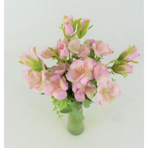 Umělá kytice pivoněk růžová