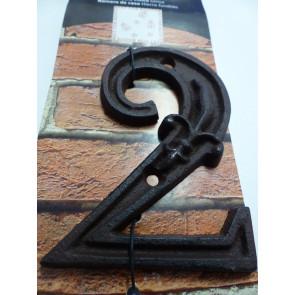 Domovní číslo litina - 2