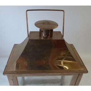 Lucerna dřevěná 31,5x18,5x48cm
