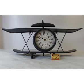 Hodiny model letadla