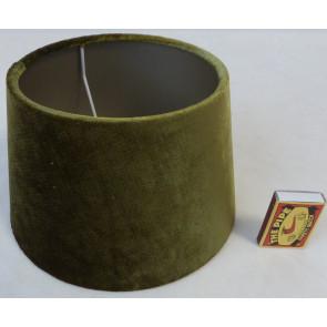 Stínidlo na lampu mechově zelené 20x15x12cm