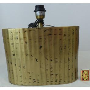 Podstavec lampy bez stínidla zlatý