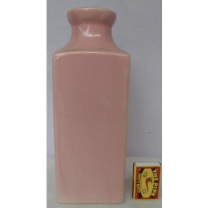 Láhev růžová  h25 9x11,5K