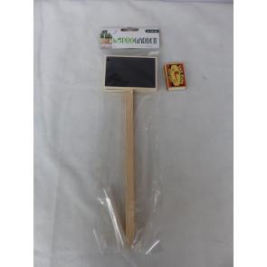 Zápich, značkovač k rostlinám Dřevěný 2ks