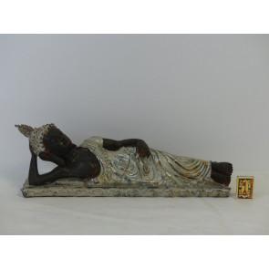 Budhha polyresin 16x50cm WS