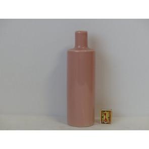 Láhev růžová  h30,5 d9 HAK