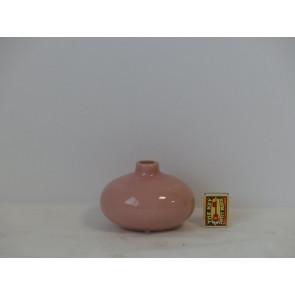 Láhev růžová  h9 14,3x12 HAK