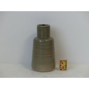 Váza  šedá  h20 d11 HAK