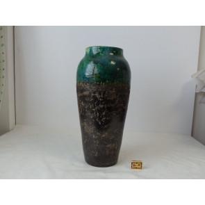 Keramická Váza Mira zelená 23x23x50cm GO