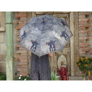 Deštník mops a buldoček TT
