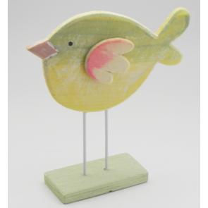 Ptáček dřevo zelená malý