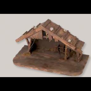 Betlém bez figurek 39x18,5x20,5 cm