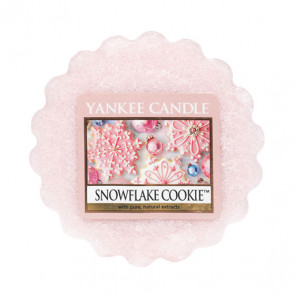 YANKEE CANDLE vosk - SNOWFLAKE COOKIE 22g