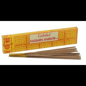 Vonné tyčinky GOLOKA Nagchampa Agarbathi