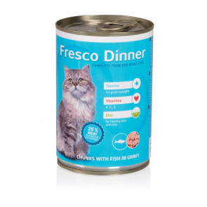 Fresco Dinner Cat ryba, 415g