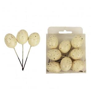 Dekorační vajíčka 8ks K-Mo X1402