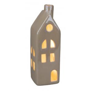 Dekorace domeček, velký LED