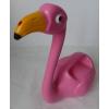 Konvička Plameňák růžová plast