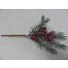 UK Borovicová větvička s glitry