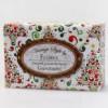 Mýdlo s ovčím mlékem 150g granátové jablko přebal vintage