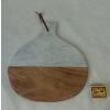 Prkénko dřevo/mramor TT