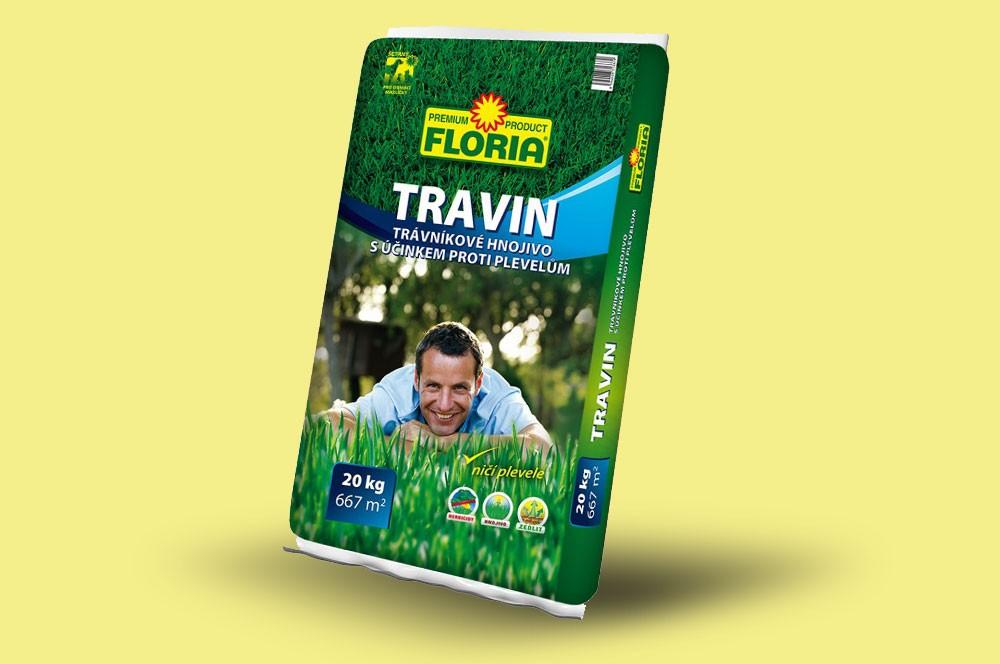 Trávníkové hnojivo Travin
